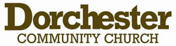 1Design websites - Dorchester Community Church - Website Logo